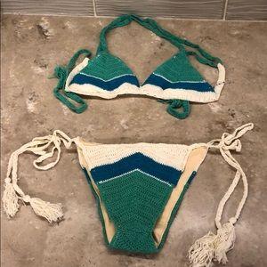 Vitamin A crochet bikini! NWT!!!